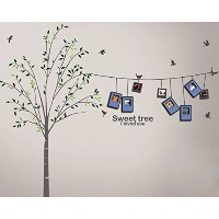 Dream Wall Wall Decal with Photo Frames, Tree Lines by wall dream
