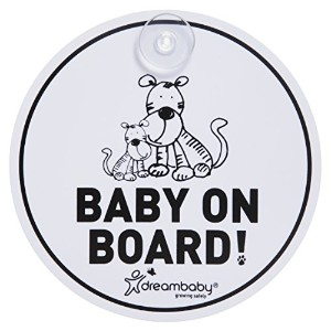 Dreambaby Baby On Board Sign, Tiger by Dreambaby