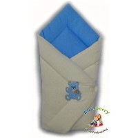 BlueberryShop Warm Thermo Terry for CAR SEAT Swaddle Wrap Blanket Sleeping Bag for Newborn, baby...