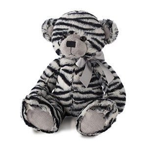 Nat and Jules Zebra Print Bear Plush Toy by Nat and Jules