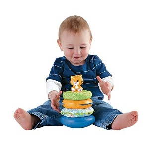 Fisher-Price First Steps Teether and Play Stacker by Fisher-Price