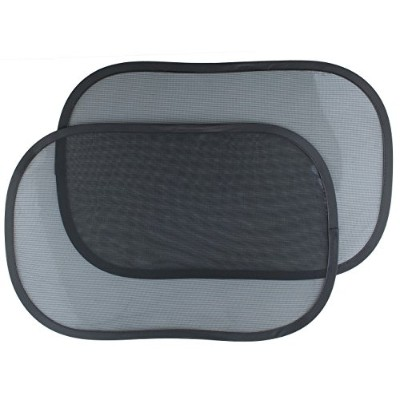 Greenco 2 Piece Car Window Sun Shade for Babies with a Unique Cling Design for Easy Attachment by...