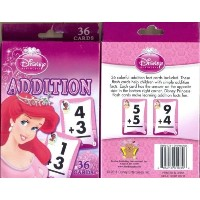 Addition Learning Cards Disney Princess by Disney