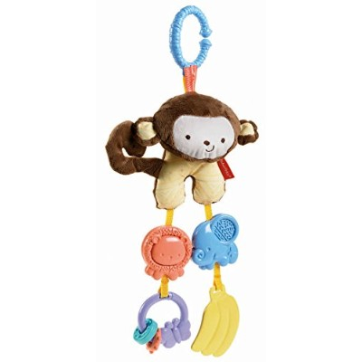 Fisher Price My Little SnugaMonkey Stroller Rattle Monkey by Fisher-Price