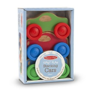 Stacking Cars: First Play Series by Melissa & Doug [並行輸入品]
