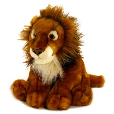 40cm African Lion Soft Toy