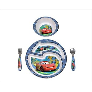 First Years Disney & Pixar Cars 4 Piece Feeding Set by The First Years