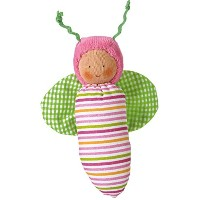 Kathe Kruse - In The Garden - Cat & Bee Toy Figure Set by K?the Kruse
