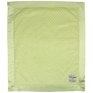 My Blankee Minky Dot Baby Blanket, 30 x 35, Apple Green by My Blankee