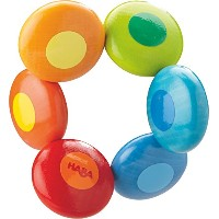 HABA Clutching Toy Rainbow Circles by HABA