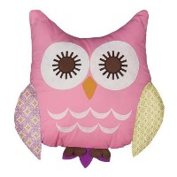 Poppyseed Owl Pillow by Lolli Living [並行輸入品]