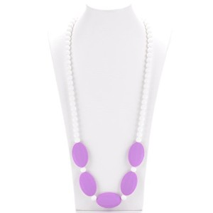Consider It Maid Baby/Toddler Silicone Teething Necklace - Mix It Up Collection (Purple) by...