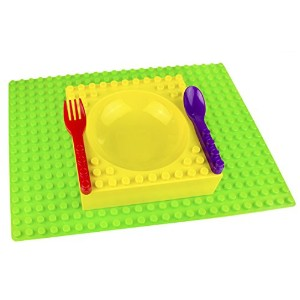 Placematix Kids Dinner Set - Eat, Play, and Learn - Innovative and Reliable Design - Safe and Non...