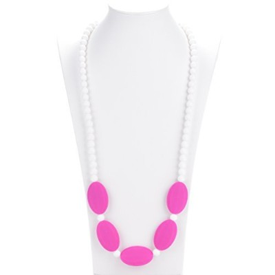 Consider It Maid Baby/Toddler Silicone Teething Necklace - Mix It Up Collection (Violet Red) by...