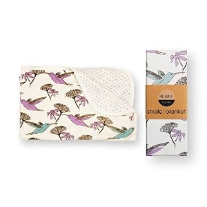 Milkbarn Stroller Blanket Hummingbird And Dot by MilkBarn