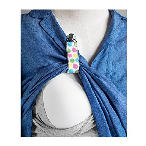 New LatchPal Hands-free Nursing Clip - an Ideal Accessory for your Nursing Cover. Dots Pattern by...