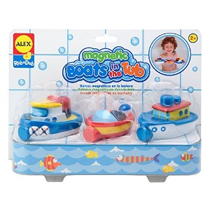 ALEX Toys Rub a Dub Magnetic Boats in the Tub [並行輸入品]