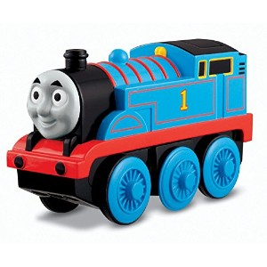 Fisher-Price Thomas the Train Wooden Railway Battery-Operated Thomas The Tank Engine [並行輸入品]