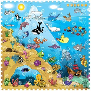 Creative Baby I-mat: Under The Sea (9 Pcs) by Creative Baby