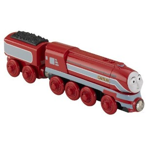 Fisher-Price Thomas the Train Wooden Railway Caitlyn [並行輸入品]
