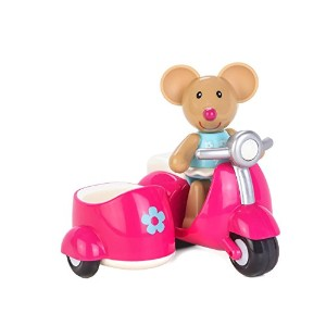 Early Learning Centre (ELC) Toybox Martha Mouse and her Scooter Baby Toy [並行輸入品]