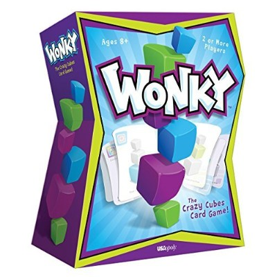 Wonky: The Crazy Cubes Card Game [並行輸入品]