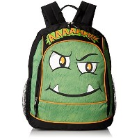 Mystic Apparel Ahh Monster Backpack, Green, One Size [並行輸入品]