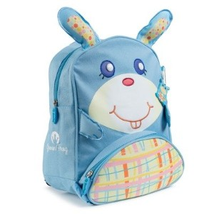 Green Frog Friends Little Kids Backpack, Lunch Bag, School Bag for Toddlers and Kids, Boys and Girls Cute Bunny Design by Green Frog