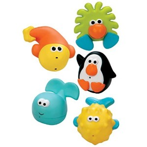 Sassy Bathtime Pals Squirt and Float Toys [並行輸入品]