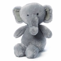 Gund Gradie Elephant Baby Rattle Stuffed Animal (Discontinued by Manufacturer) by GUND [並行輸入品]