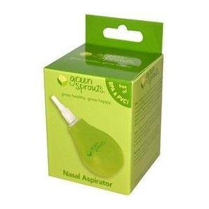 Baby Nasal Aspirator with Removable Silicone Nozzle and Cap by i play. [並行輸入品]