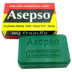 Asepso Antibacterial Agent Soap 2.8 Oz / 80 G (Pack of 12) from Thailand by Asepso [並行輸入品]