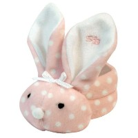Stephan Baby Boo Bunnie Comfort Toy and Boo Cube, Baby Girl Polka Dot by Stephan Baby [並行輸入品]