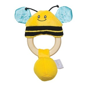 Manhattan Toy Squeaker Bee & Baby Teether