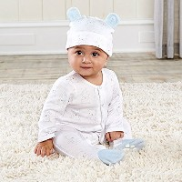Baby Aspen Beary Sleepy Baby Pajama Gift Set, Blue by Baby Aspen [並行輸入品]