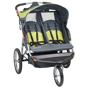 Baby Trend Expedition Double Jogger Stroller, Carbon by Baby Trend [並行輸入品]
