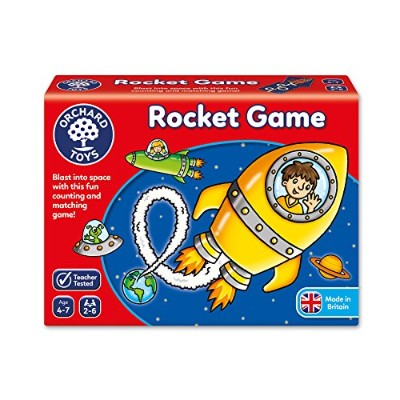 (1, assorted colours) - Orchard Toys Rocket Game (Assorted Colours)
