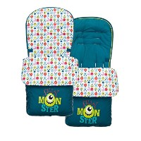 Obaby Footmuff Disney Monsters Inc.