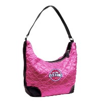 NBA Detroit PistonsピンクQuilted Hobo