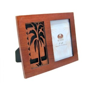 "Hawaiian Isles Palm Tree Single木製フォトフレーム4 "" x 6 """
