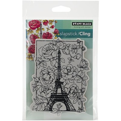 Penny Black 40-383 April in Paris Slapstick Cling Stamp by Penny Black