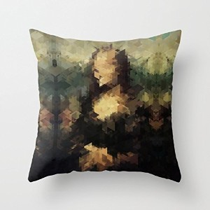 18 X 18 Inches / 45 By 45 Cm Geometry Throw Pillow Case ,2 Sides Ornament And Gift To Bar,christmas...