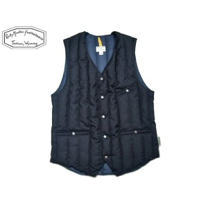 ROCKY MOUNTAIN FEATHERBED(ロッキーマウンテンフェザーベッド)/#200-172-20 DOWN GILLET/navy