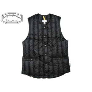 ROCKY MOUNTAIN FEATHERBED(ロッキーマウンテンフェザーベッド)/#200-172-11 SIX MONTH VEST/black