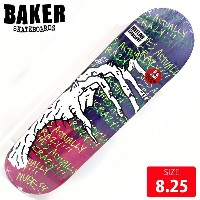 BAKER ベイカー デッキ NUGE SHES ACTUALLY CRAZY DECK 8.25 BAD-284 skateboard スケートボード スケボー