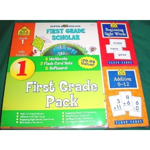 Super Deluxe First Grade Scholar Pack - School Zone (輸入版)