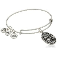 Alex and Ani Because I Love You Rafaelianバングルブレスレット One Size