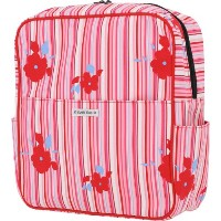 Bumble Bags Madeline Hanging Stroller Backpack Rosey Stripe by Bumble Bags