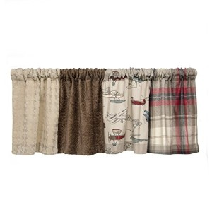 Glenna Jean Fly-By Window Valance, 70 x 18 by Glenna Jean