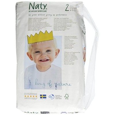 Naty Diapers - Size 2 - 34 Ct by Naty